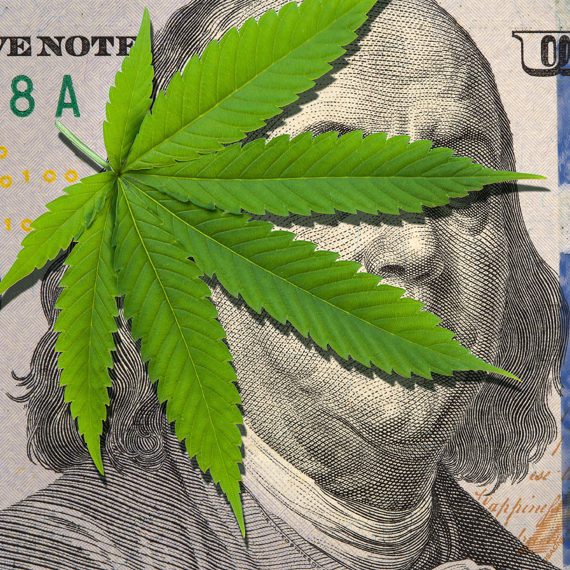 Marijuana business taxes, regulations illustration by John Kuczala