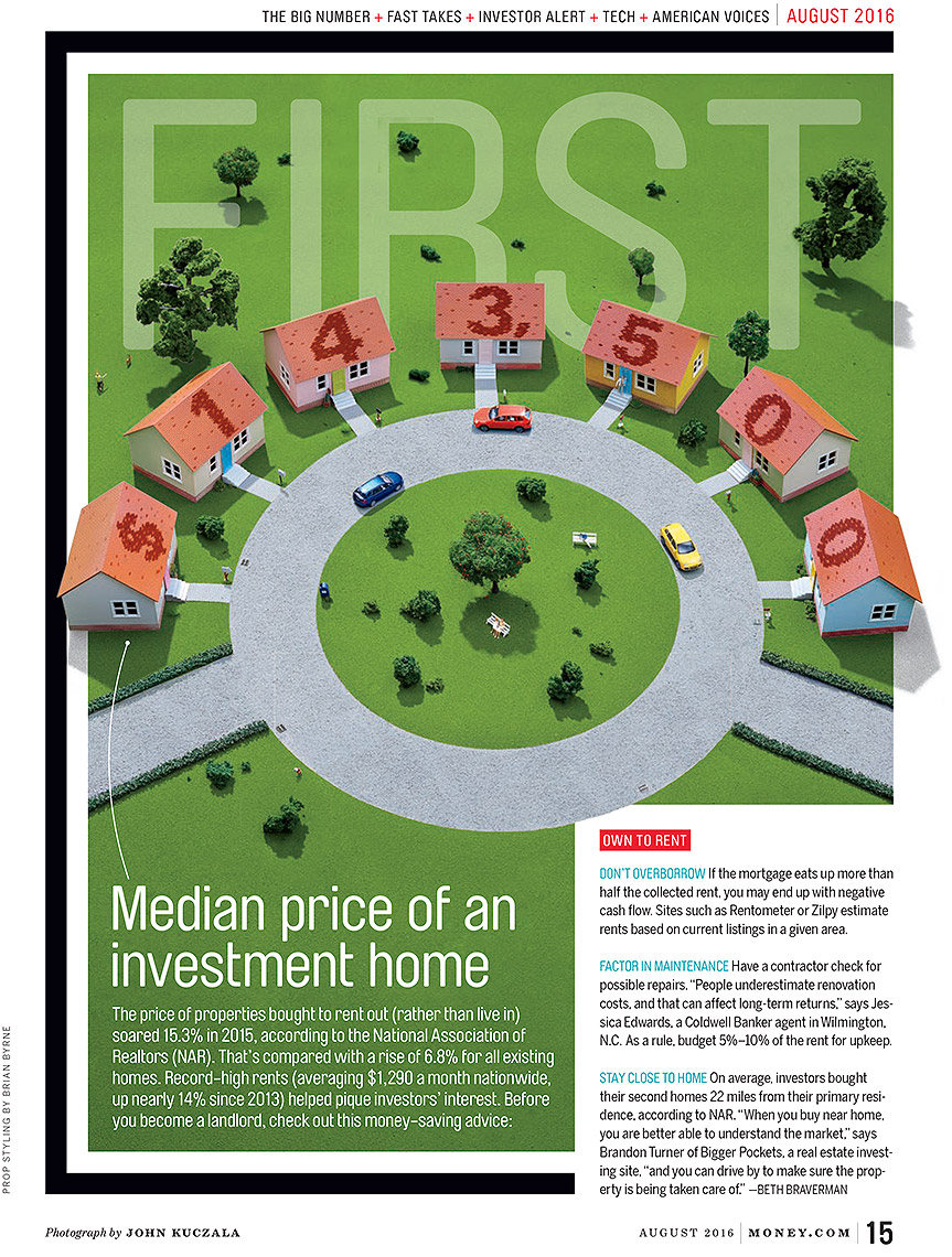 Investment home Money magazine photo by John Kuczala