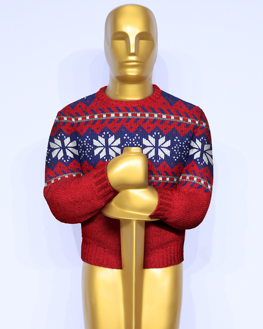 Famous movie sweaters photo-illustration by John Kuczala