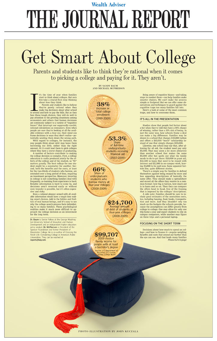 Smart college savings photo-illustration by John Kuczala
