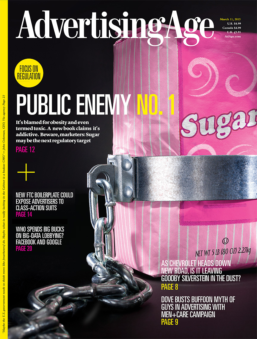Sugar is public enemy number one conceptual photo by John Kuczala