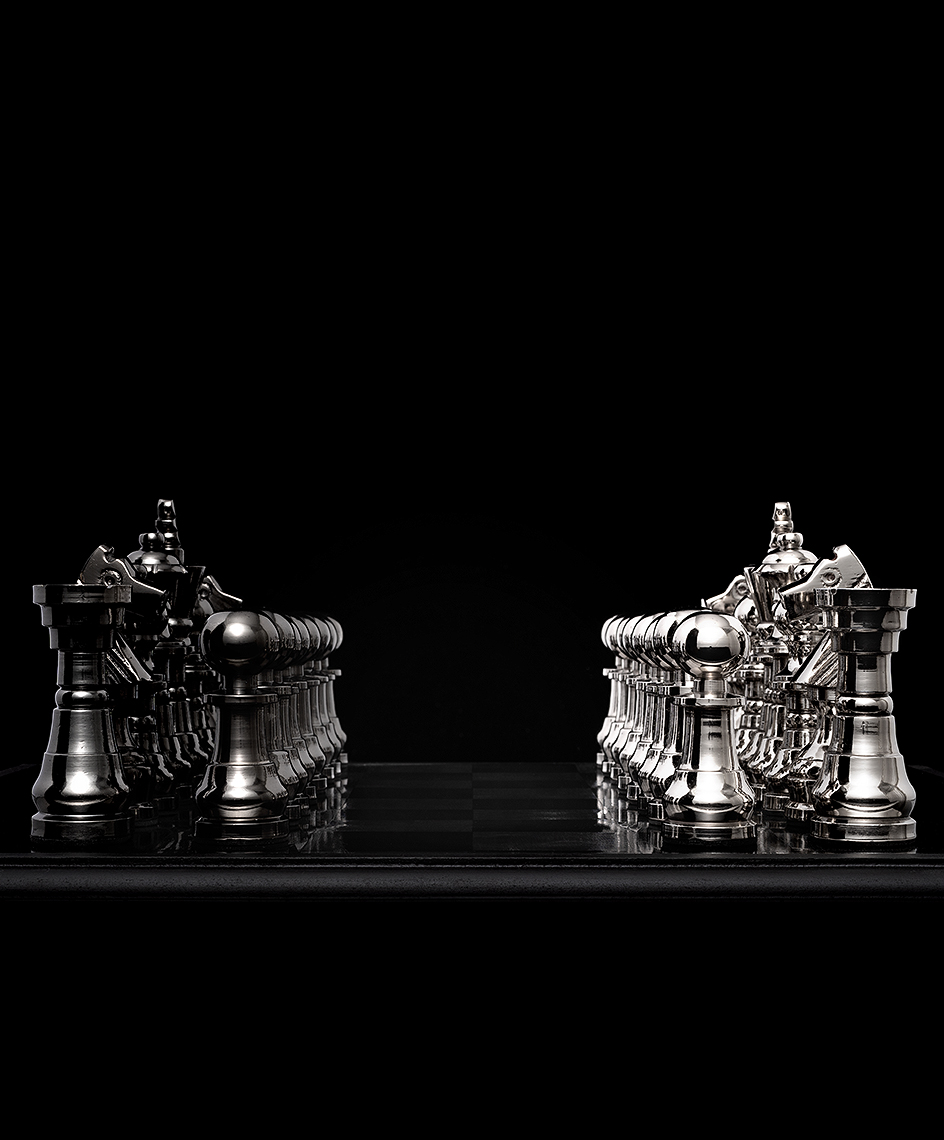 Chess strategy planning conceptual photo by John Kuczala