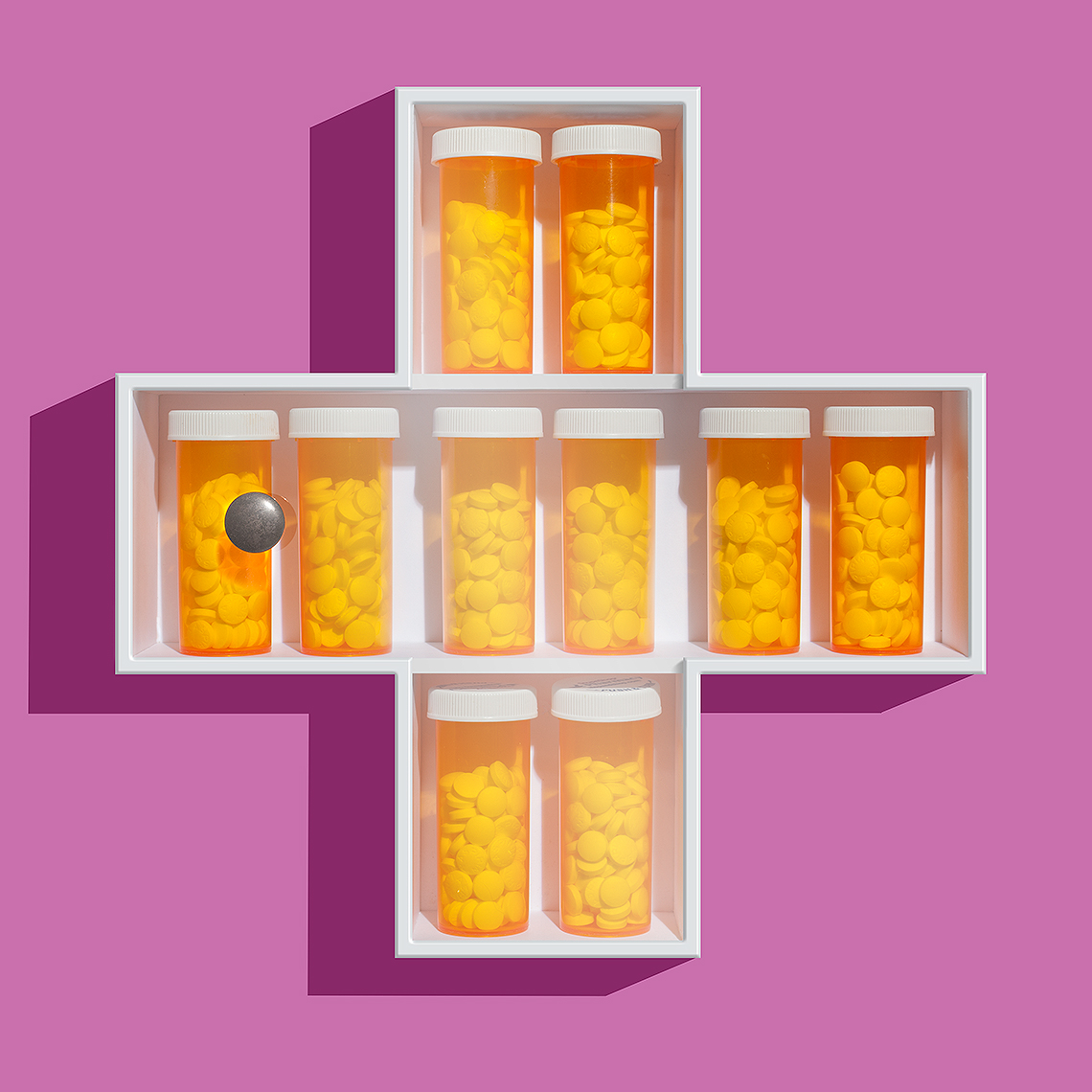 Prescription drugs medicine chest photo-illustration by John Kuczala