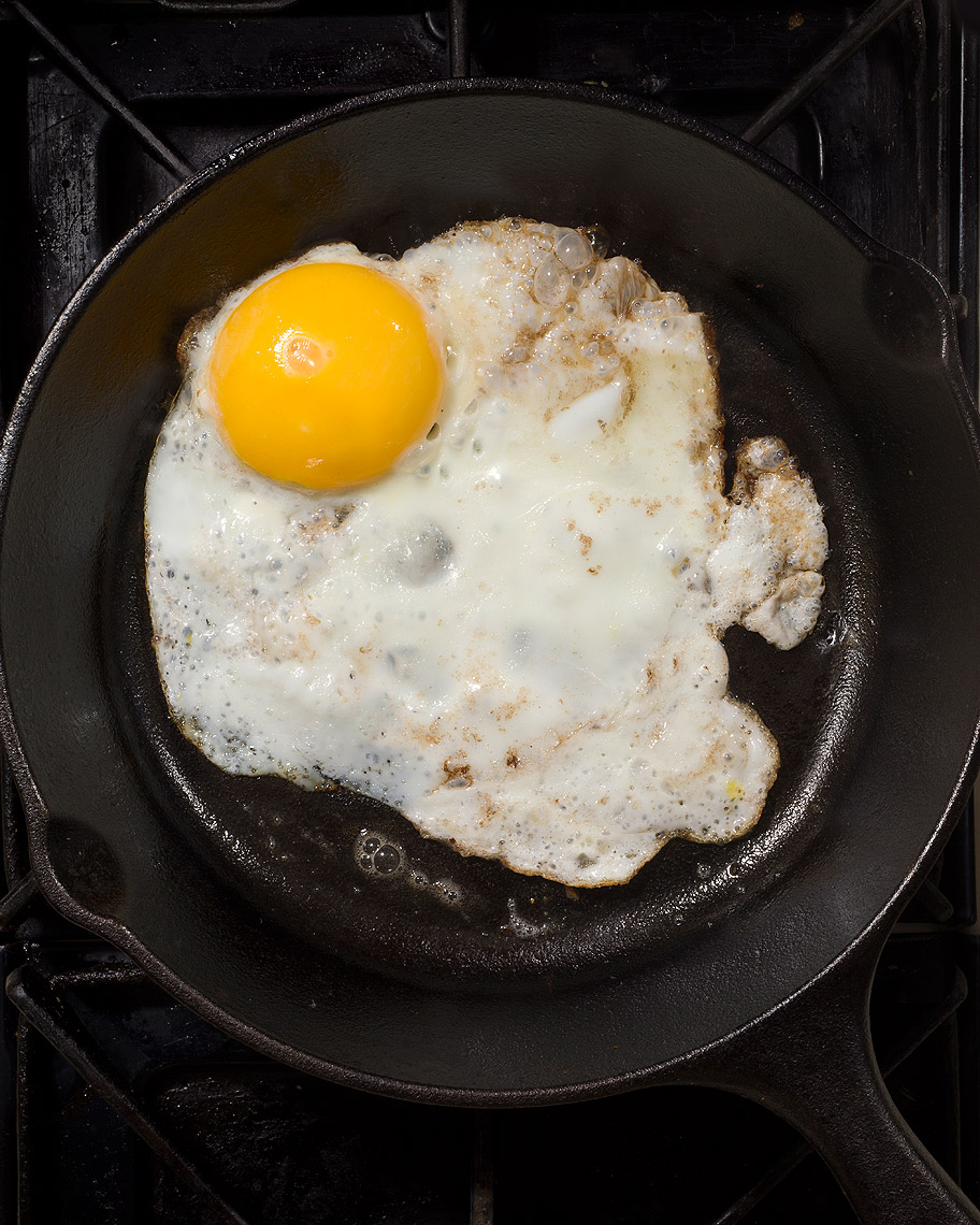 Fried egg, your brain on drugs photo by John Kuczala