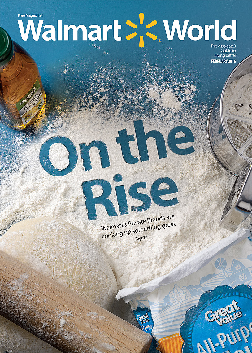Pizza dough ingredients typography photo by John Kuczala