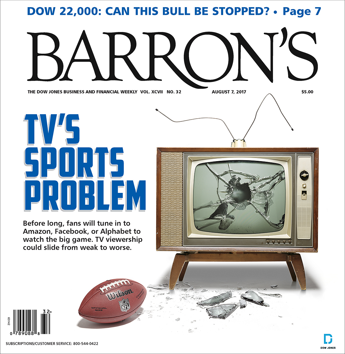 Sports on television photo-illustration by John Kuczala
