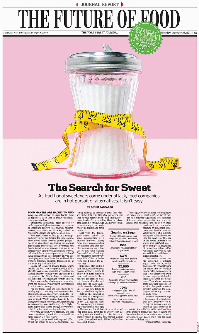 Sweet sugar alternatives photo-illustration by John Kuczala